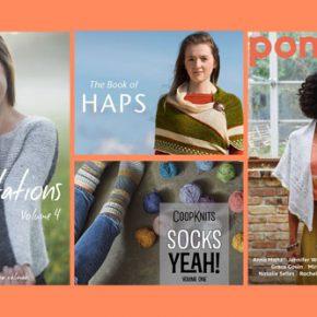 Von CoopKnits bis PomPom Quarterly: Bücher und Zeitschriften