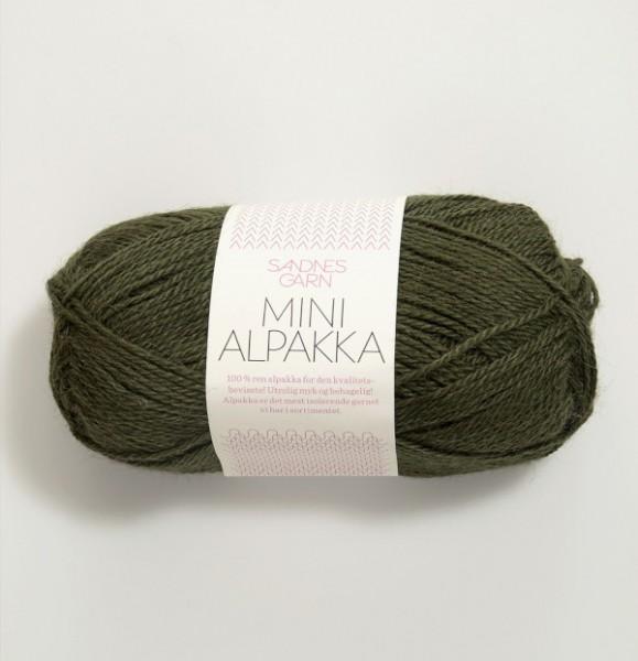Mini Alpakka - Moosgrün (9573)