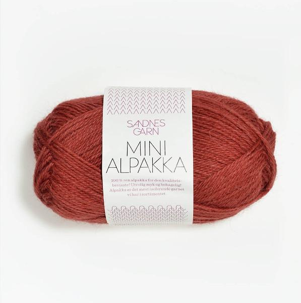 Mini Alpakka - Mørk Terrakotta (4035)
