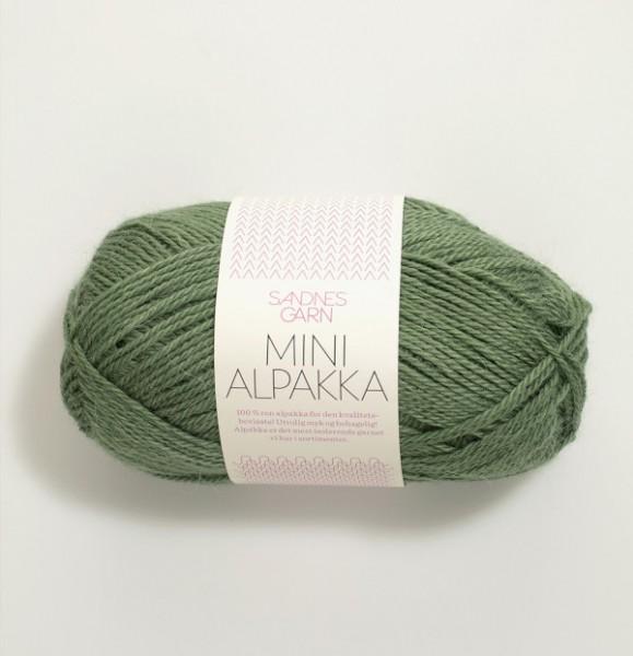 Mini Alpakka - Grün (8543)