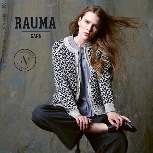 Rauma Garn - 288 3-tr strikkegarn Familie