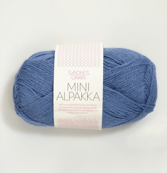 Mini Alpakka - Blau (6053)