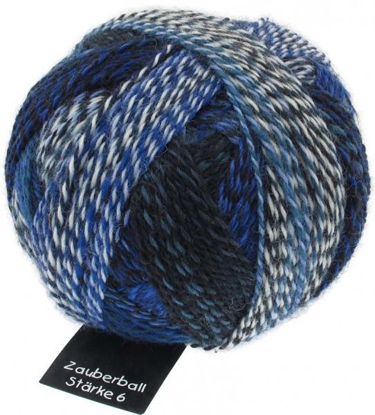 Zauberball ® Stärke 6 - Pause in Blau (2099)