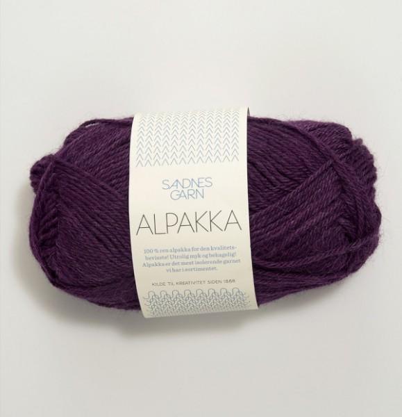 Alpakka - Dunkellila (4855)