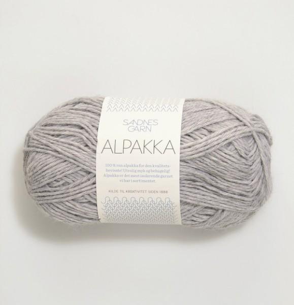 Alpakka - Grau meliert (1032)