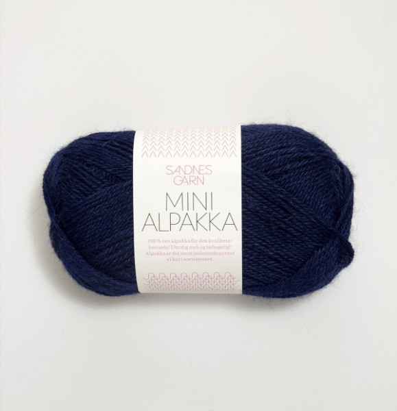 Mini Alpakka - Dunkelblau (5575)